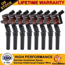 8 Pack Ignition Coil For Ford 4.6L 5.4L F-150 Xl F250 F550 4.6/5.4L Fd503 Dg508
