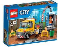 (NUOVO) LEGO CITY (60073) Service Truck - 233 PEZZI comprese 2 figure