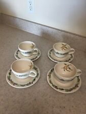 Pfaltzgraff Jamberry Coffee Cup With Saucer