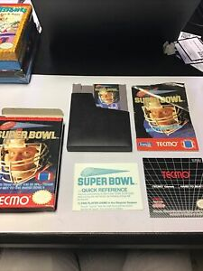 Tecmo Super Bowl - Complete CIB (Nintendo Entertainment System NES, 1991)