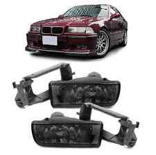 2 ANTIBROUILLARD NOIR BMW SERIE 3 E36 BERLINE + COUPE + CABRIOLET + COMPACT