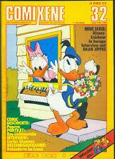 COMIXENE Nr.32 von 1980 mit Europas Disney-Zeichner, Daan Jippes, Popeye - Z0-1