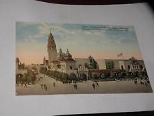 Vintage Postcard Ca Science of Man Buildings Panama-California Exposition