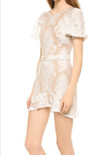 For Love And Lemons San Marcos White Mini Dress Sz S Small Lace