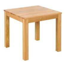 Esstisch Diez, Tisch, Esszimmertisch, Küchentisch, Wildeiche, 80x80