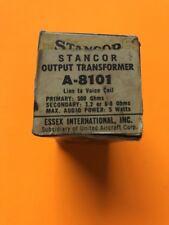 Nos Vintage Stancor A-8101 Output Transformer -Free Shipping-
