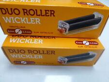 2x Gizeh Duo Roller,Wickler,Drehmaschine+1x Blättchen Extra Slim