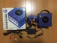 GameCube Console purple Japan NTSC-J Nintendo boxed set violet