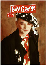 2021 Wall Calendar [12 page A4] BOY GEORGE Vintage Music Poster Photo M1259
