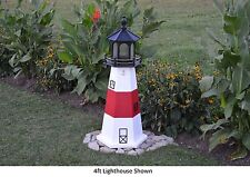 Amish-Made Replica Montauk, Ny Lighthouse with Lighting - In 13 Sizes!