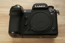 Panasonic LUMIX S1R 47.3MP Mirrorless Camera (Body Only) - Low Shutter - MINT