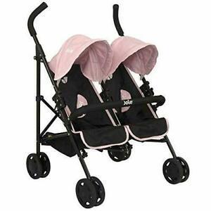HTI Joie Junior Aire Twin Stroller - Kids Toy Dolls Pram Pushchair