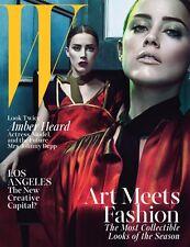 W Magazine,Amber Heard,Mark Ruffalo,Matt Bomer,Raquel Zimmermann,Steven Klein