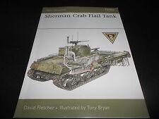 OSPREY NEW VANGUARD 139, SHERMAN CRAB FLAIL TANK by DAVID FLETCHER