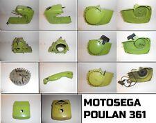 Ricambi spare parts carrozzeria motosega chainsaw POULAN 361 vintage 70's