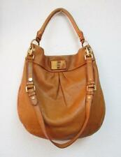 MARC by MARC JACOBS Tan Leather Classic Q Hillier Hobo Bag Shoulder Slouch Purse