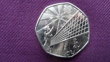 London 2012 Olympic collectable 50p Fifty Pence Coins - Beach Volley Ball
