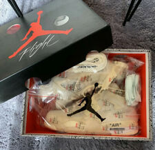 Nike Air Jordan 4 Retro X Off White Sail Size 8US. 1:1 Shoes