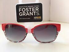 FOSTER GRANTS Designer (SFGE 13040) Sunglasses - UV400 Max Block 100% Protection