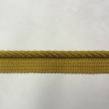 Sunbrella outdoor Trim 3/8 inch Gold cord with tape (5 Yards)
