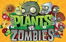 Plants Vs Zombies Iron On Transfer For T-Shirt & Other Light Color Fabrics #1