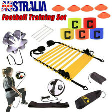 Agility Speed Training Ladder Hurdle Poles Cones Fitness Football Sport Exercise