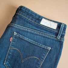 Vintage Levi Demi Curve Jeans Blue Straight Zip Women's Medium Waist 30 Leg 29