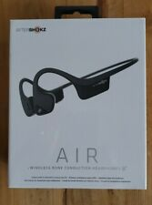AFTERSHOKZ TREKZ AIR Bone Conduction Bluetooth HEADPHONES Slate Gray NEW