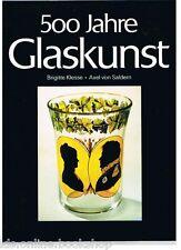500 Jahre Glaskunst Sammlung Biemann - ABC Verlag Zurich 1978