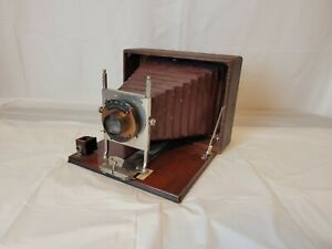 Antique WOLLENSAK OPTICAL CO. Conley Automatic Folding Accordion Camera