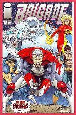 BRIGADE, Vol. 2, #1, NM, 1993, Image Comics