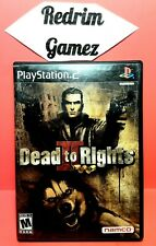 Dead To Rights II PS2 Video Games