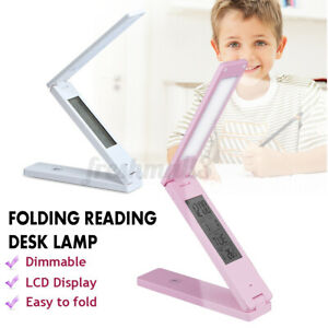 Portable Folding Reading LED Light Dimmable Table Desk Cold Light Touch Control