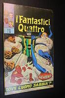 I FANTASTICI QUATTRO 4 F4 N° 58 - ED. CORNO - ORIGINALE - BELLO [EA-058B]