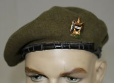 DESERT STORM IRAQI ARMY SERVICE BERET WITH INSIGNIA