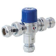 Pegler PEG402 15mm thermostatic mixing valve. 5A1401 TMV3 TMV2