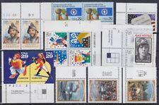 USA Randstücke Sondermarken Sammlung **, postfrisch, MNH