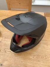 Fox V1 Matte Motocross MX Race Off Road Helmet Black Adults