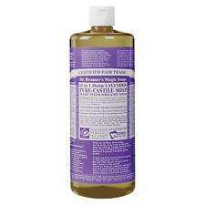 Dr. Bronner's Magic Soaps Liquid Castile Soap Lavender 32 Oz