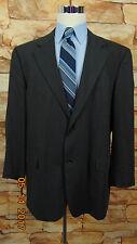 Pronto-Uomo Firenze  Gray 100% Wool Lined Casual Blazer Size  48R (133) Italy