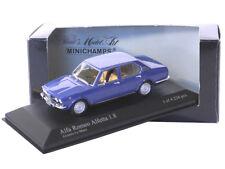 1:43 Minichamps - Alfa Romeo Alfetta 1.8 Berlina 1972 - blau