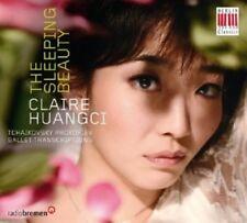 CLAIRE HUANGCI - SLEEPING BEAUTY  CD KLASSIK NEW+ TSCHAIKOWSKY/PROKOFIEFF