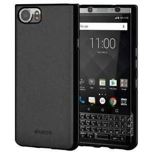 AMZER Hybrid TPU Bumper Soft Back Phone Cover Skin Case for Blackberry KEYone