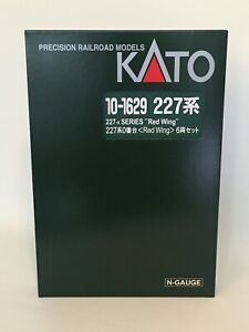 """KATO 10-1629 - Series 227-0 """"Red Wing"""" 6-car set - N scale"""
