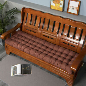 Garden Pation Swing Bench Cushion 2-3 Seater Indoor & Outdoor Furniture Seat Pad