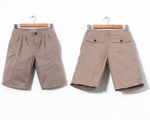 Women's BURBERRY BRIT Cotton Shorts Beige Size US 4 UK 6