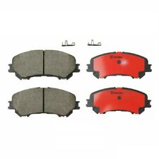 Fits Nissan Rogue Sport Front Ceramic Slotted Disc Brake Pad Set Brembo P56105N