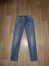 """DIESEL """"MATIC"""" SLIM TAPERED Jeans SKINNY Hüftig Blau W25 L32 **TOP**"""
