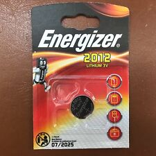 Energizer 2012 CR2012 3 V Lithium Coin Cell batterie DL2012, BR2012 Plus Long Expiration