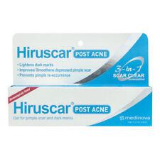 Hiruscar Post Acne Gel 3 in 1 Scar Dark Spot Mark Skin Care Face Treatment 10g
